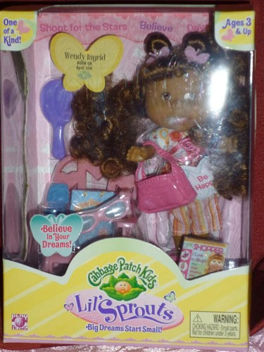 Cabbage Patch Kids Lil Sprouts wendy