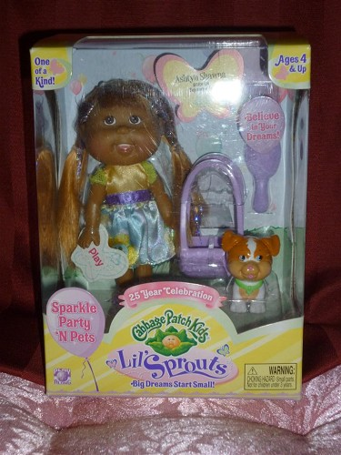 Cabbage Patch Kids Lil Sprouts ashtyn